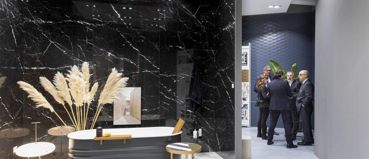 Pomysł na łazienkę (źródło: https://cevisama.feriavalencia.com/en/)