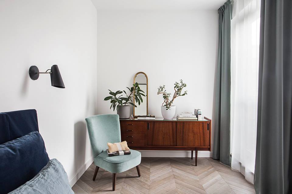 Sypialnia | proj. OIKOI, fot. Martyna Rudnicka
