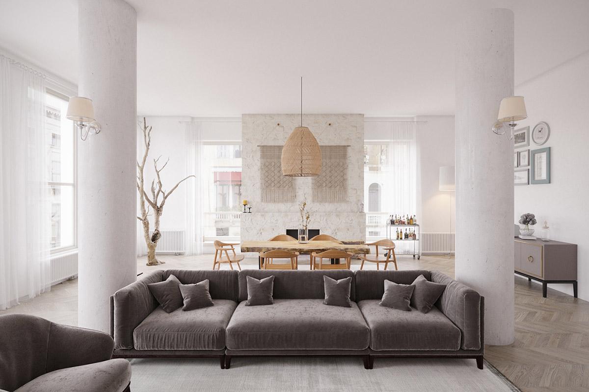Szara sofa https://artpartner.com.ua/