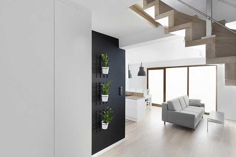 Projekt mieszkania Wojsz Studio