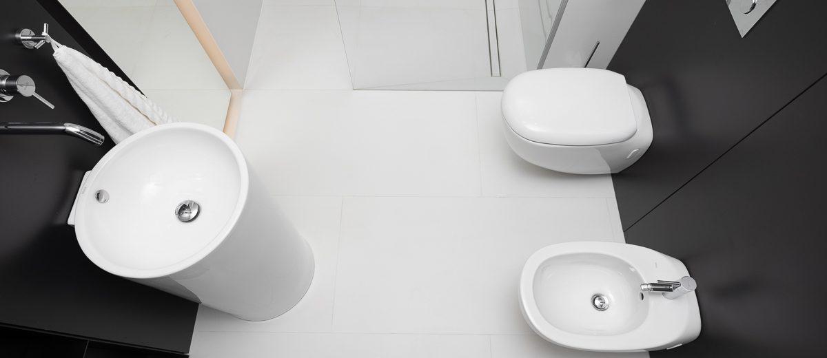 Łazienka z odpływem liniowym