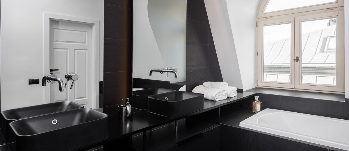 Łazienka | proj. Noye Studio, zdj. Przemysław Kuciński