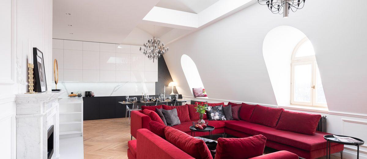 Pomysł na salon | proj. Noye Studio, zdj. Przemysław Kuciński