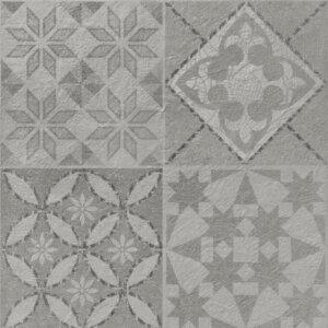 Ricordena Płytka ceramiczna Piega Argento Deco 40×120