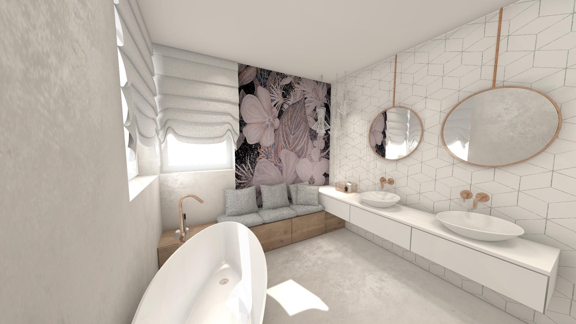 rojekty łazienek wykonane w Internity Home przez architekt Monika Pyśk