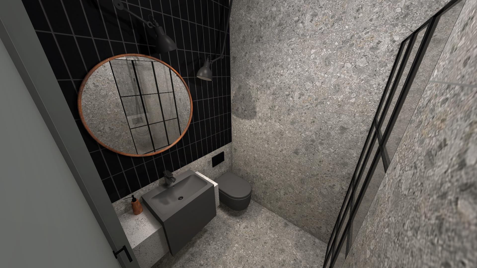 Projekty łazienek wykonane w Internity Home przez architekt Monika Pyśk