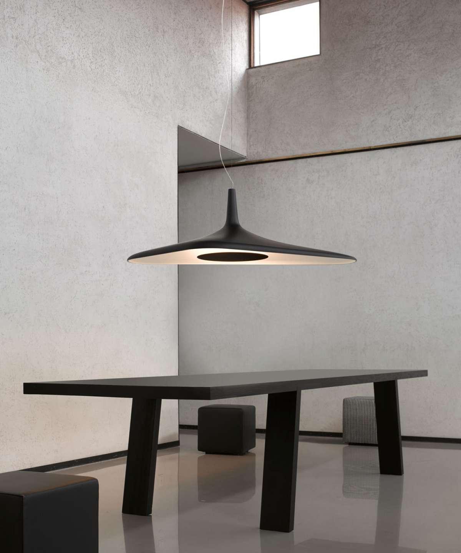 Luceplan lampa Soleil Noir