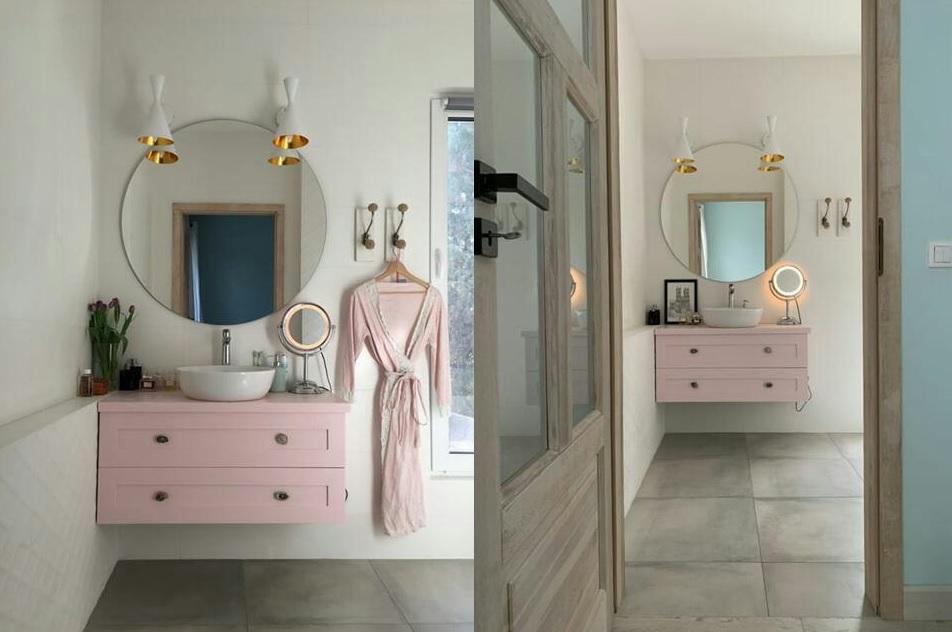 MIHATA projekt łazienki | Umywalka Villeroy & Boch