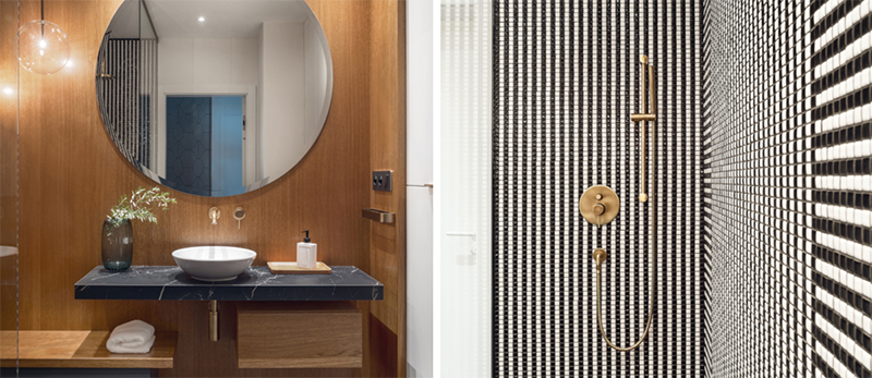 Piękny projekt łazienki | proj. Hamak.pro, zdj. Tom Kurek Photography