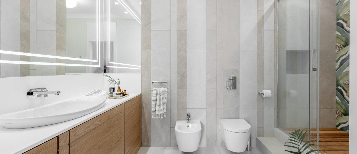 Najpiękniejsze projekty łazienek (proj. JT Grupa)