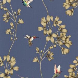 Tapeta Harlequin kolekcja Amazilia (Indygo)