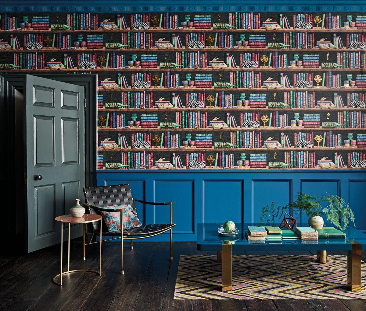 """Kolekcja tapet marki Cole & Son ,Fornasetti Senza Tempo"""" jest dostępna w showroomach z Grupy Internity Home"""