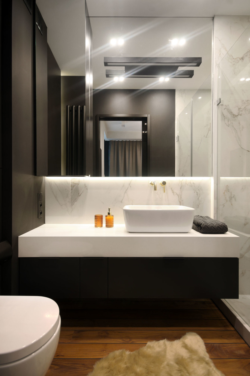 Łazienka | proj. Soma Architekci