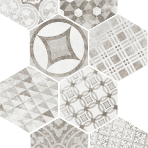 Płytki Equipe kolekcja Cement Garden Grey
