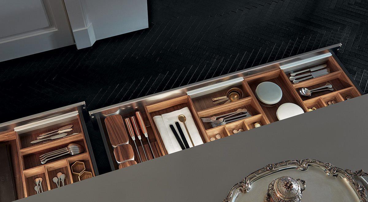 Przechowywanie w kuchni | źródło: Poliform