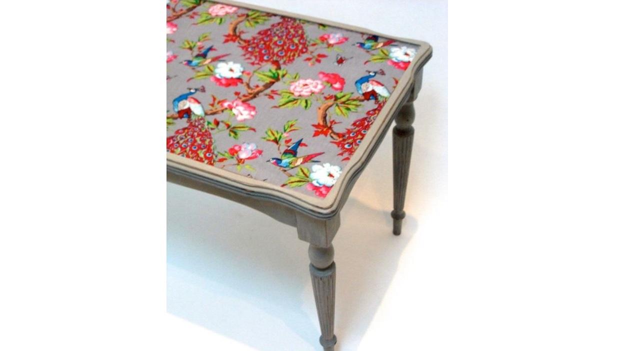 Stół z odnowionym blatem