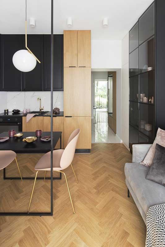 projekt małego mieszkania