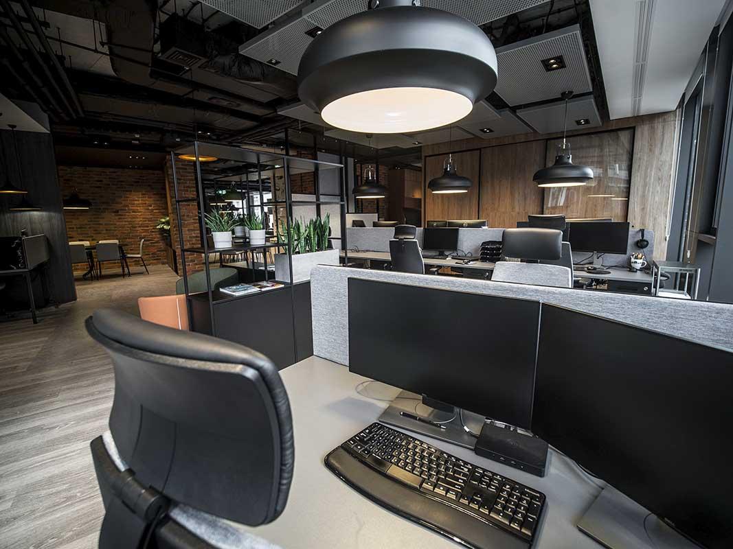 Biuro firmy Stagast projekt MADAMA