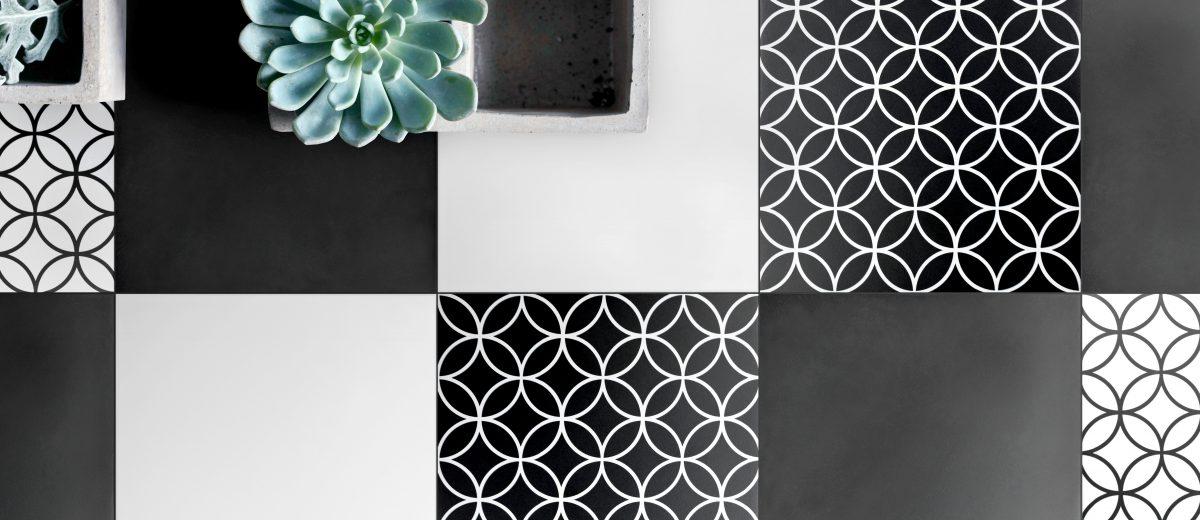 Wzorzyste płytki podłogowe Patchwork marki Heralgi