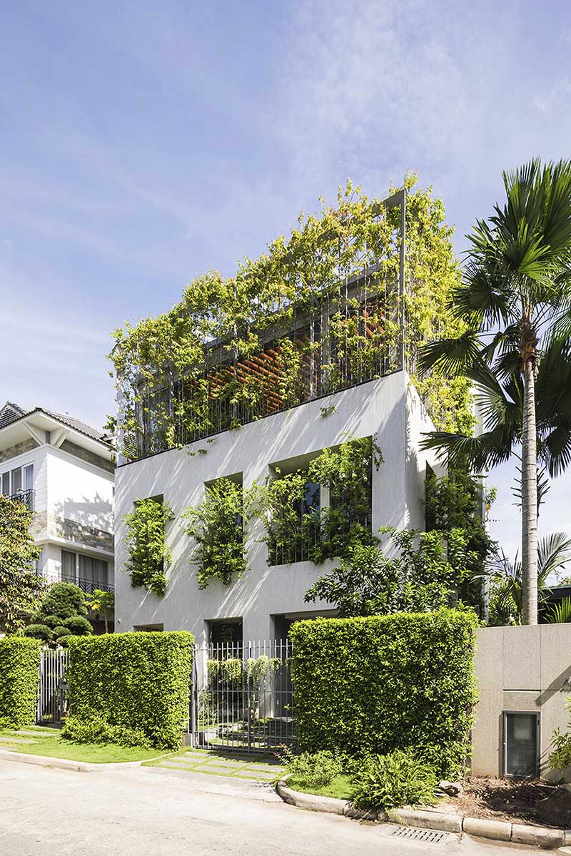 VTN Architects projekt domu pełnego roślin