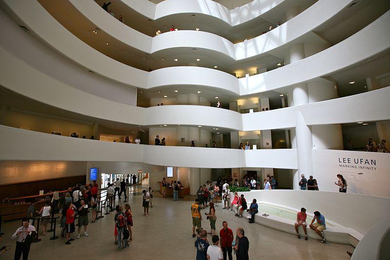 Muzeum Salomona R. Guggenheima w Nowym Jorku.