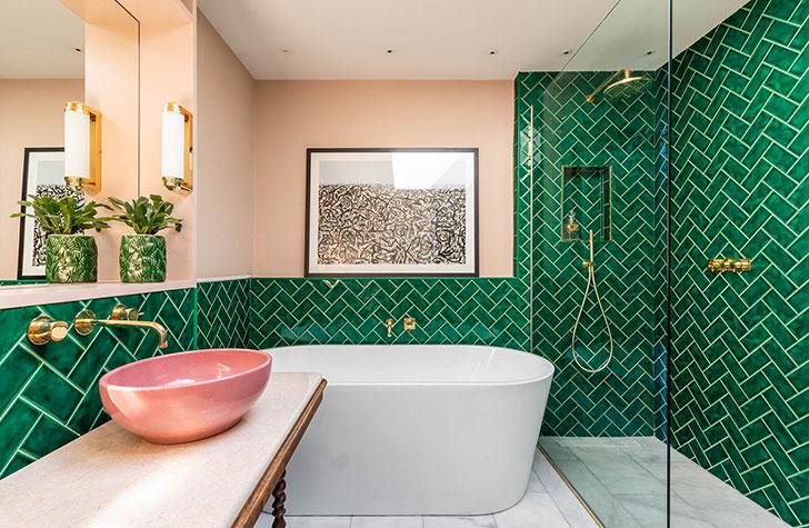 Tropicalny apartament w Londynie
