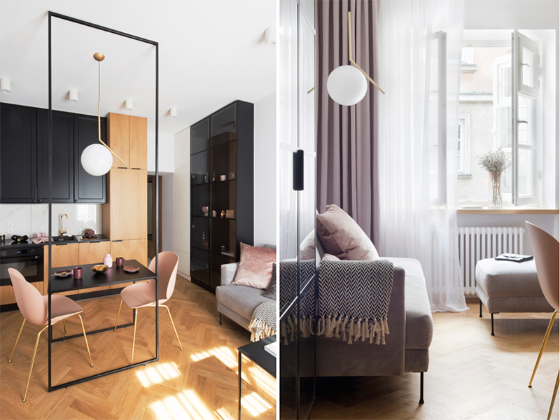29 - metrowe mieszkanie (proj. ZAZA Studio) | Kliknij, żeby zobaczyć cały projekt