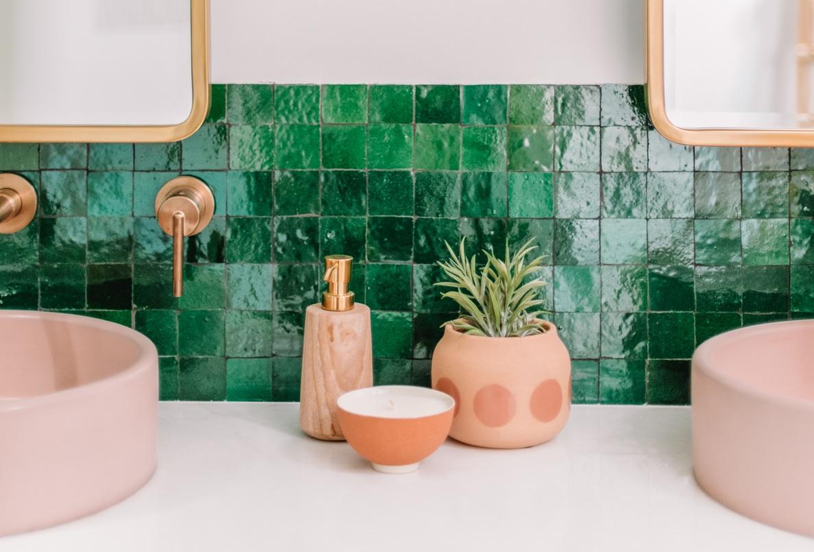 Zielone Kolekcje Płytek Do łazienki Trendy 20192020 W