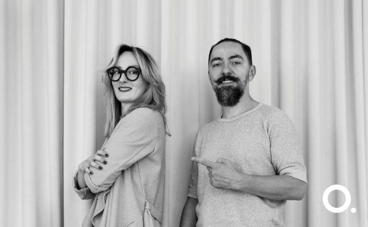 Aga Kobus i Grzegorz Goworek ze Studio.O