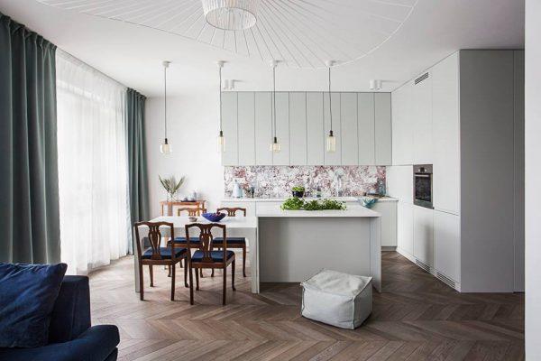 Mieszkanie w eklektycznym stylu | proj. OIKOI