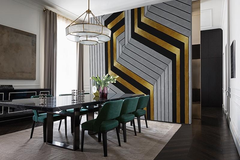 Piękna tapeta nawiązująca do art deco od Wall&Deco