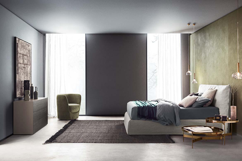 Łóżko Piumotto włoskiej marki Pianca jest dostępne w naszych showroomach
