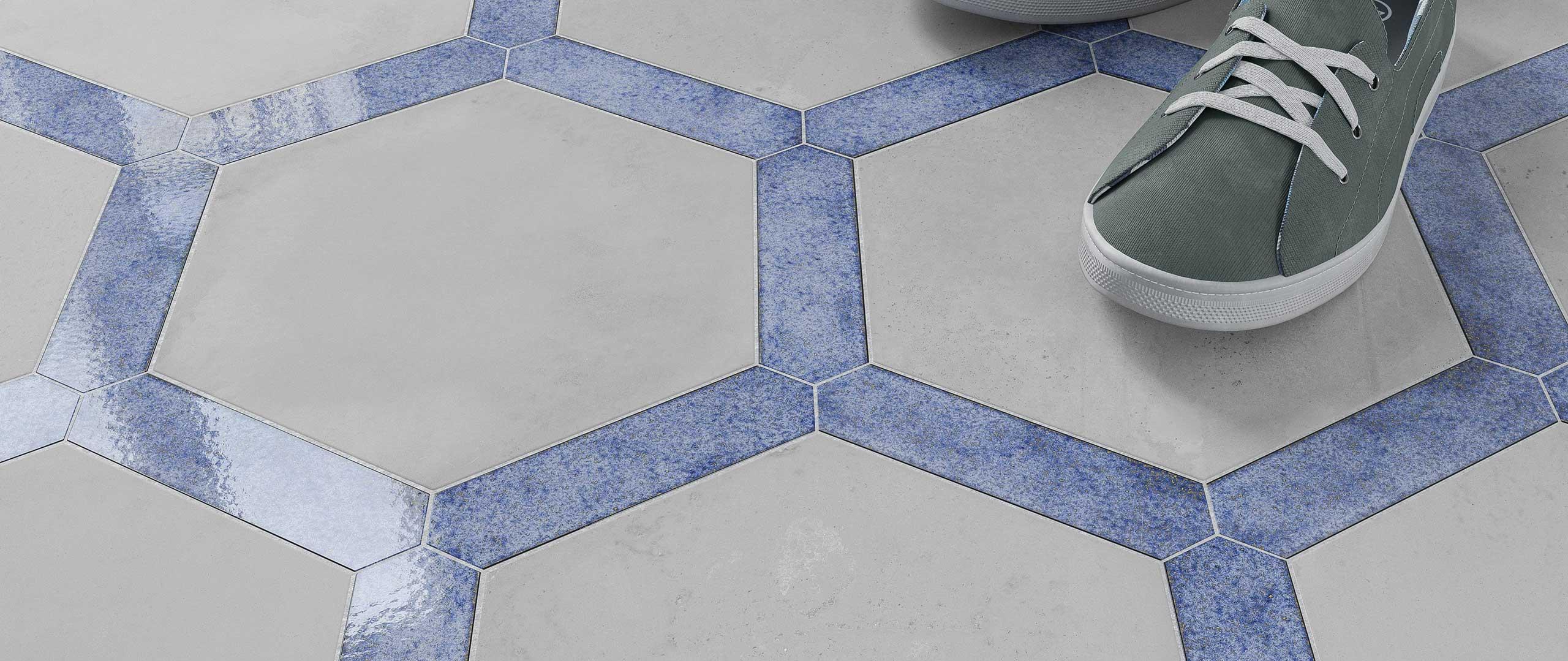 Podłoga Wow Design - zestaw płytek dostępny w Internity Home i Prodesigne