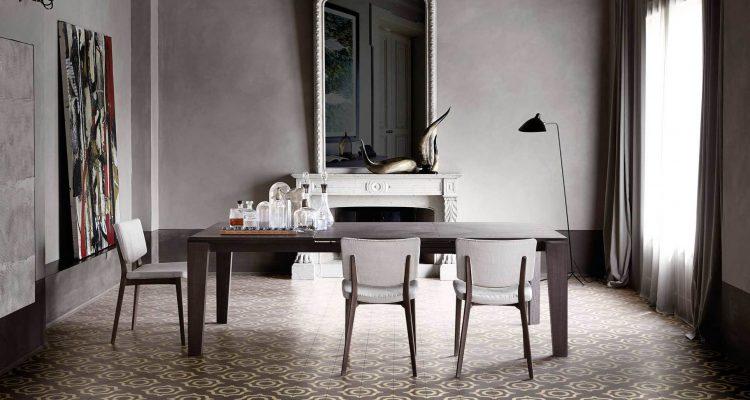 Płytki cementowe Dal Bianco od Bisazza