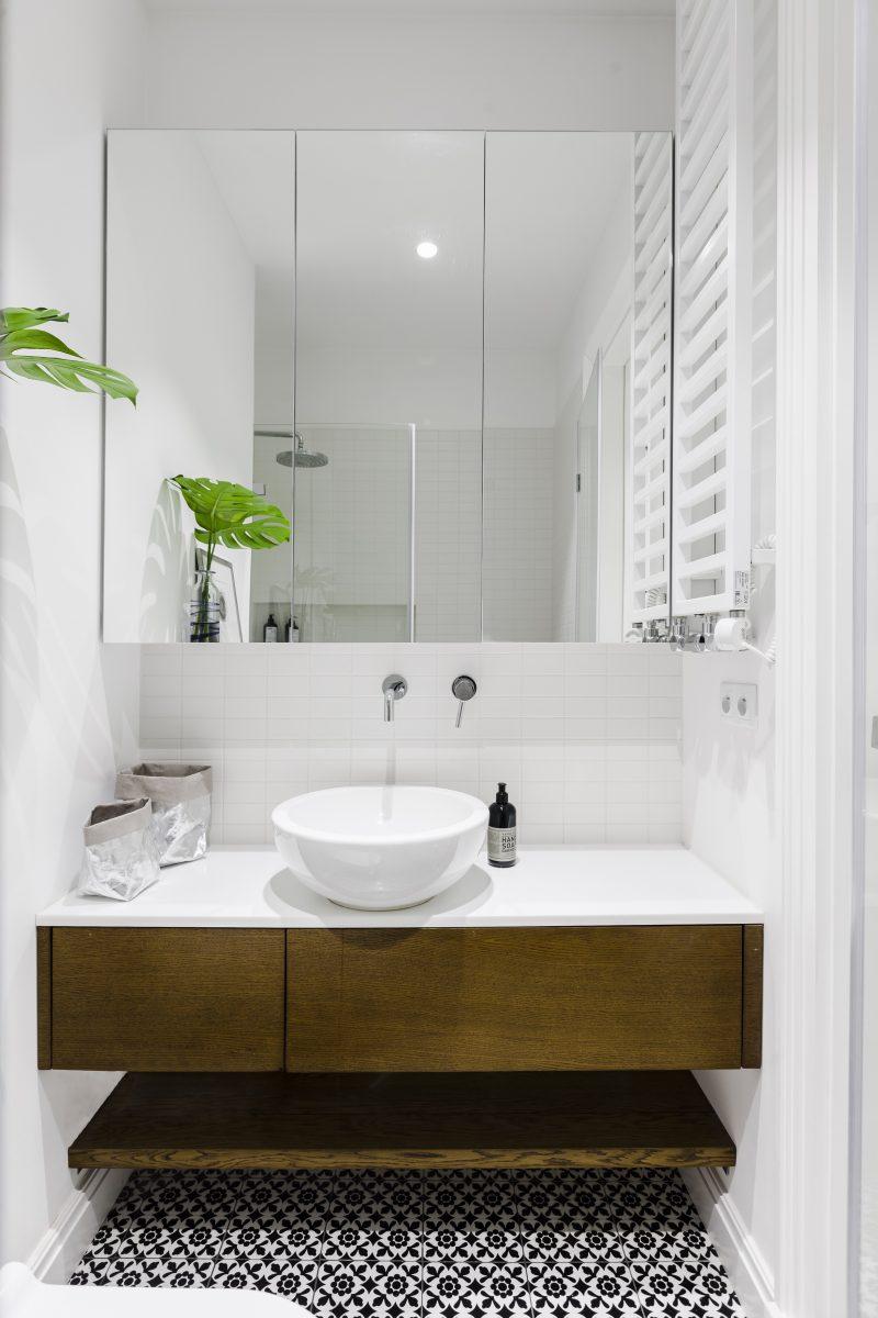 Mała łazienka | proj. KW Studio, zdj. PION