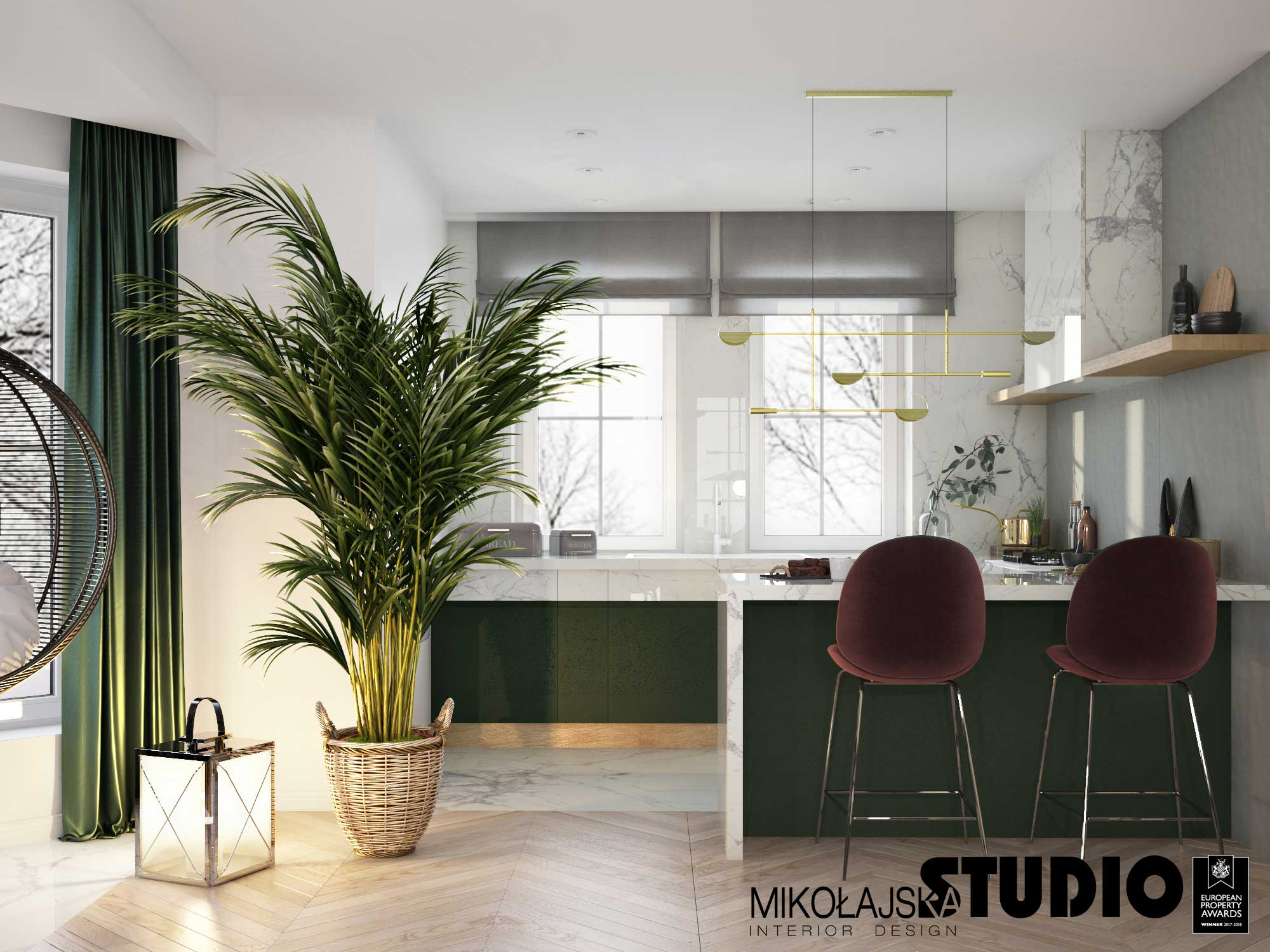 Projekt kuchni Mikołajska Studio