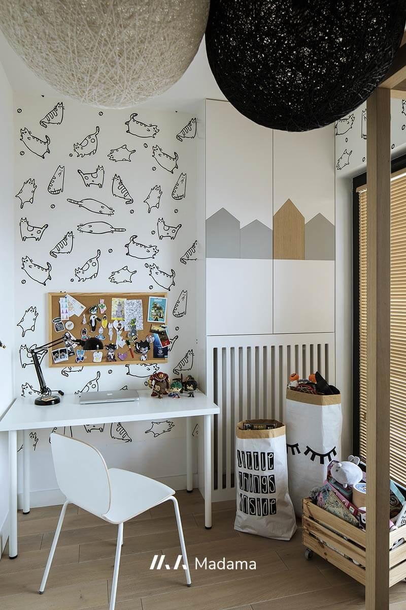 Pokój dziecięcy wg projektu Madama (zdj. Yassen Hristov)