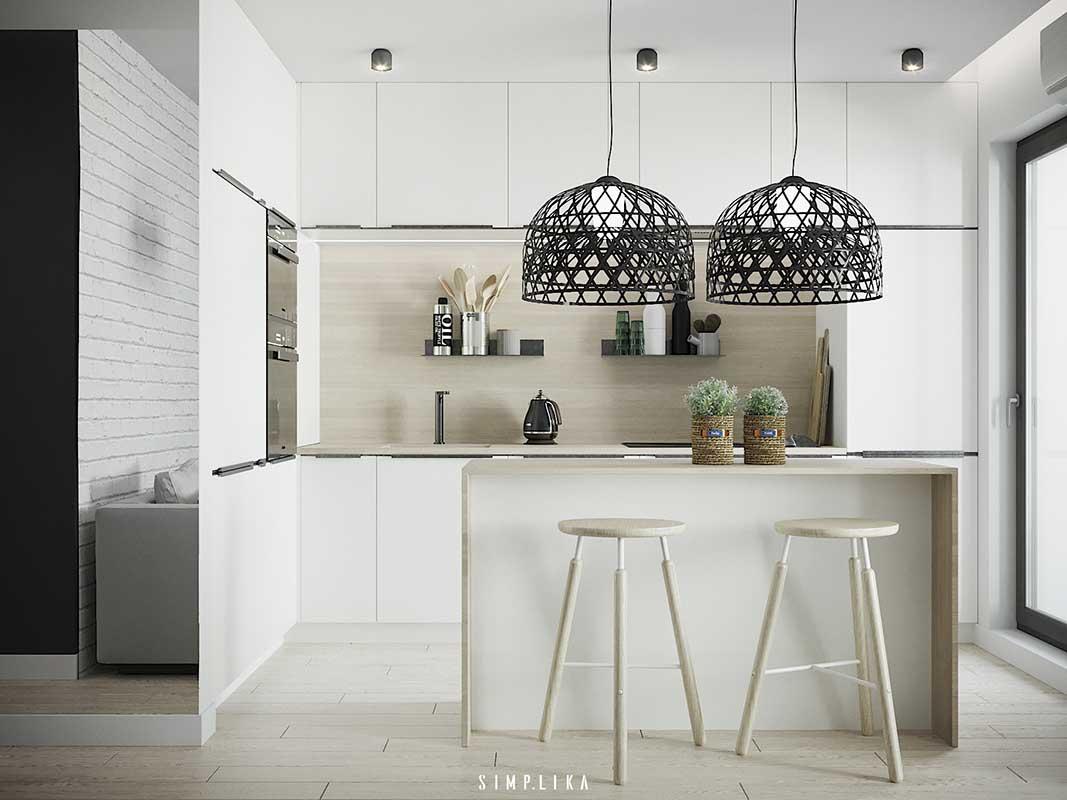 Kuchnia zaprojektowana przez Simplika