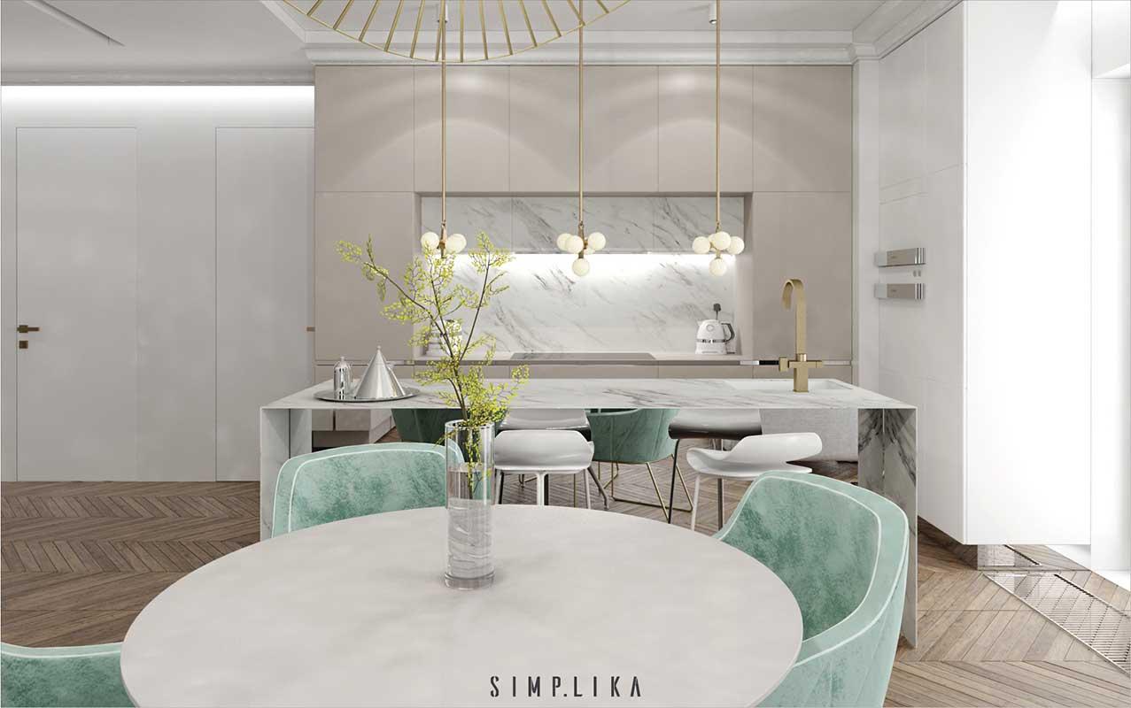 Projekt kuchni Simplika