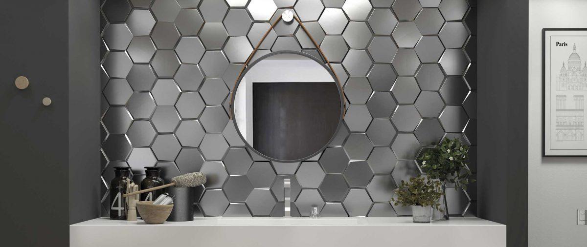 Metaliczne płytki Wow Design są dostępne w naszych showroomach: Internity Home i Prodesigne