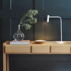 Lampa stołowa Astro Enna Desk Led, kolor biały matowy