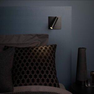 Kinkiet Astro Enna Square Switched LED, matowy czarny