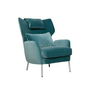 Fotel uszak Alex Sits (Tkanina: Lario turquoise)