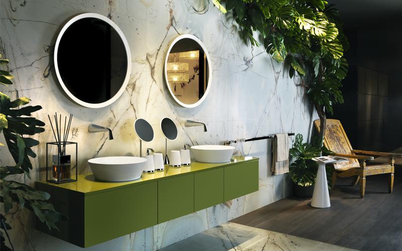 Umywalki i armatura włoskiej marki Gessi