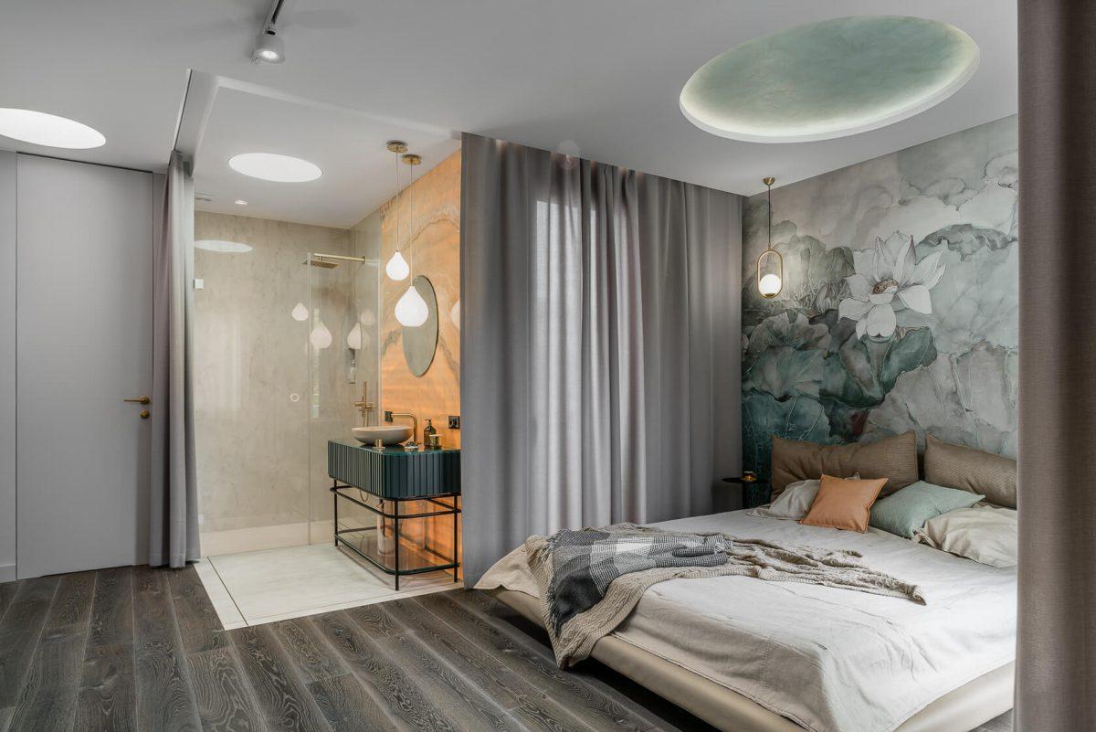 Sypialnia master | proj. Magma, zdj. Fotomohito