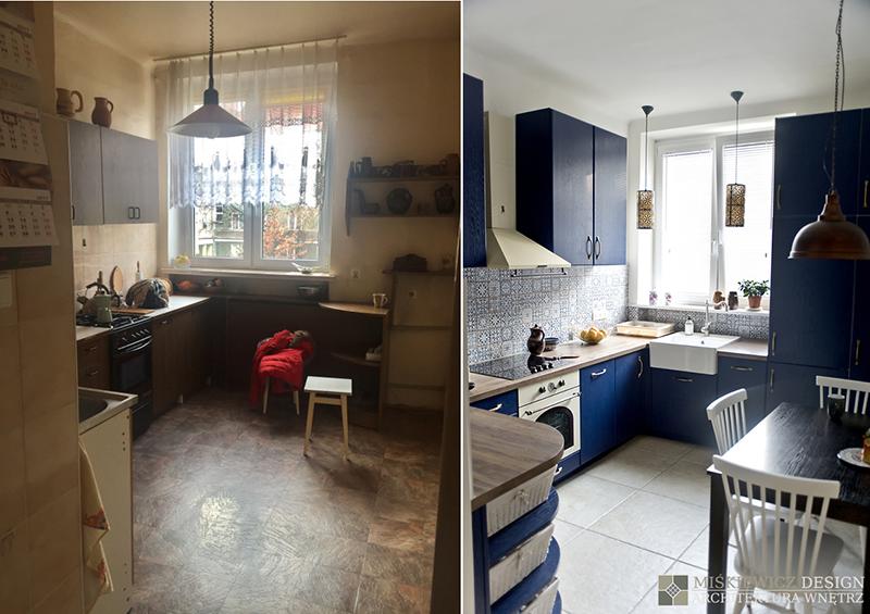 Metamorfoza kuchni | proj. Miśkiewicz Design