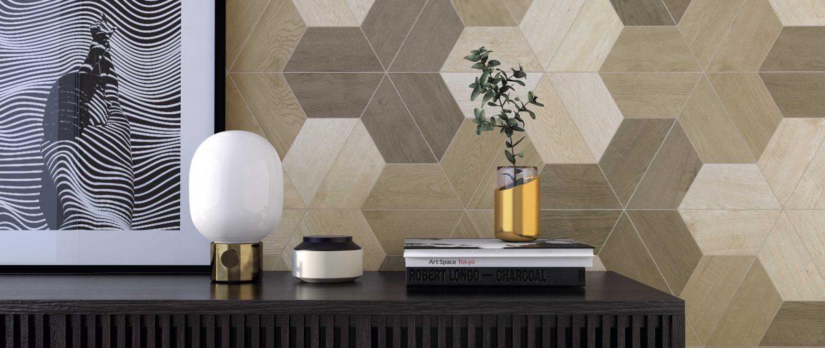 Płytki heksagonalne z kolekcji 60° marki Wow Design (marka dostępna w naszych showroomach)