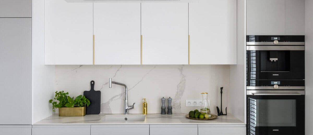 Biała kuchnia | proj. 3 Deko
