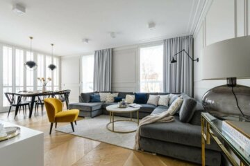 Salon w stylu nowojorskim | proj. 3 Deko