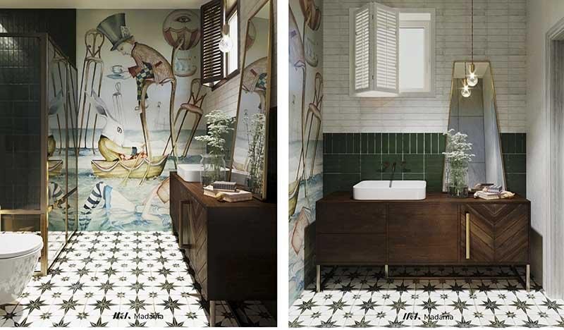 Łazienka zaprojektowana przez Madama